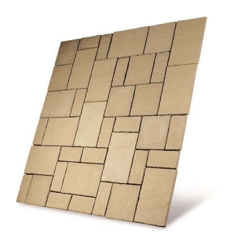 Cathedral Paving Patio Kit 7.29m2 Weathered York
