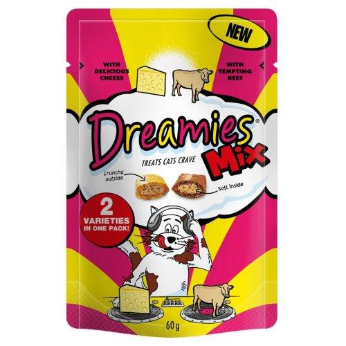 Dreamies Beef & Cheese 60g (Pack of 8)