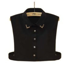 Elegant Women's Fake Half Shirt Blouse Collar Detachable Collar, #17