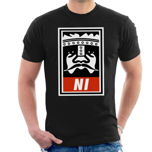 fe5aca3d0 Niid To Obey Knights of Ni Monty Python Holy Grail Men's T-Shirt on OnBuy