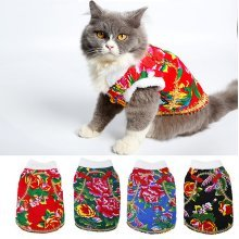 Chinese Dog Pet Costume Apparel Warm