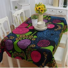 Party TableCloth Printed Rectangular Dinner Table Cloth