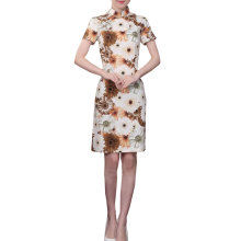 Elegant Chinese Dress Qipao Dresses Cheongsam Women Clothing Skirt XXL-14