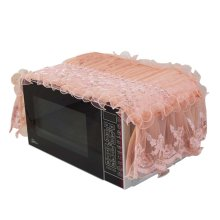 Fashionable Lace Microwave Oven Dustproof Cover Dust Cover Covered Cloth