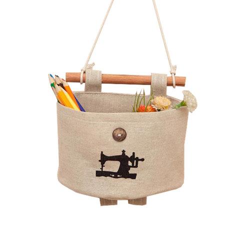 Wall Door Hanging Pocket Storage Bag Jewelry Organizer, A5