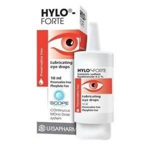 HYLO FORTE EYE DROPS 10 MLHYLO FORTE EYE DROP - 10 ML