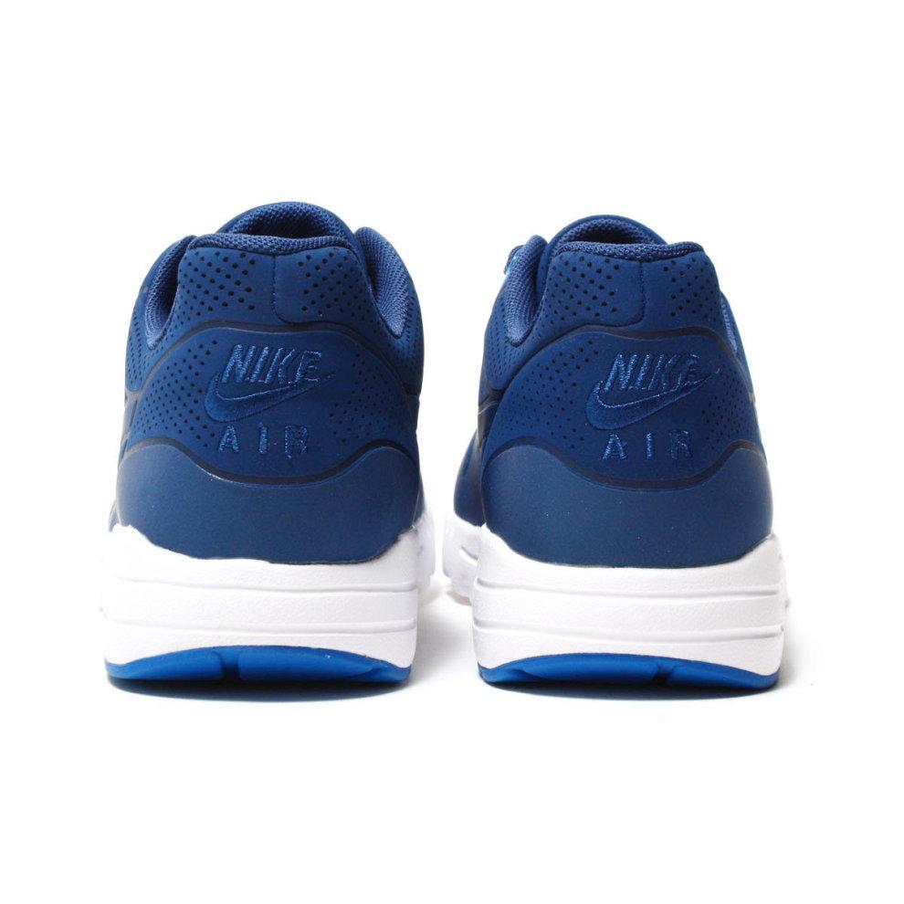 e1629ce7e2 ... New Womens Nike Air Max 1 Ultra Moire Trainers Blue 704995 403 - 4 ...