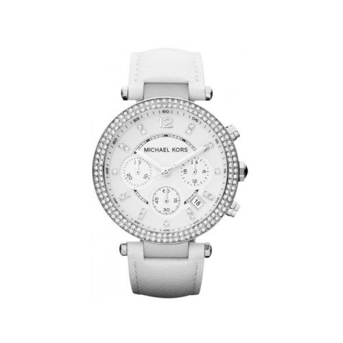 Michael Kors White Ladies' Parker Chronograph Watch - MK2277