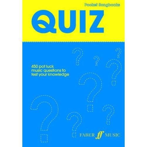Pocket Songs: Quiz (Pocket Songbook)