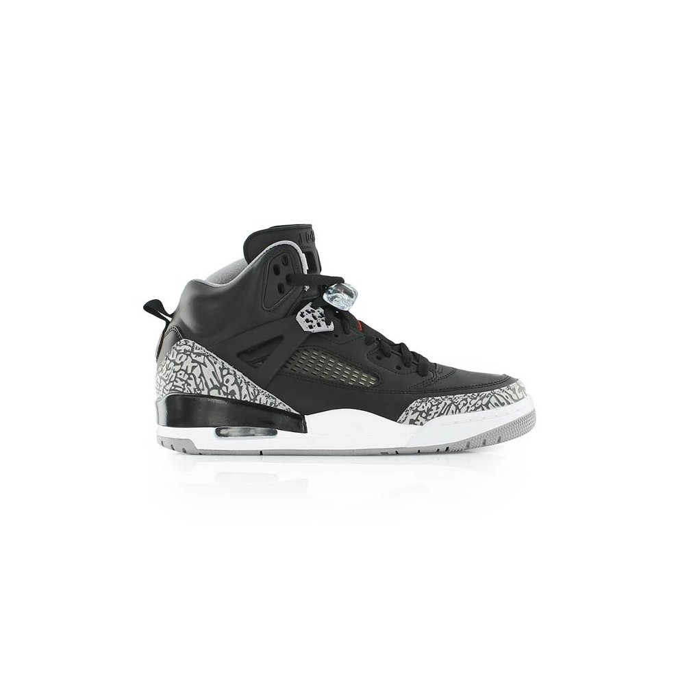 new product f3203 53dce Nike Air Jordan Spizike Black Red Cement Size 9 UK 315371 034 ...