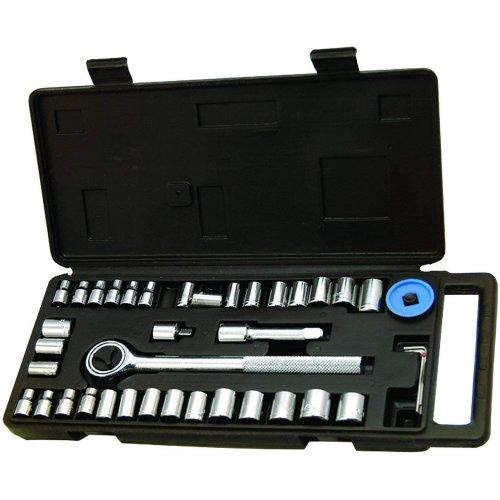 Blackspur 40pc Socket Wrench Set Tools Hardware