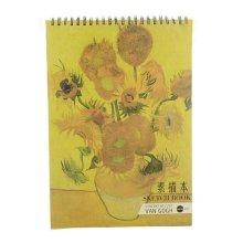 [Large Size] Practical Spiral Binding Artist Sketchbook Painting Book #05