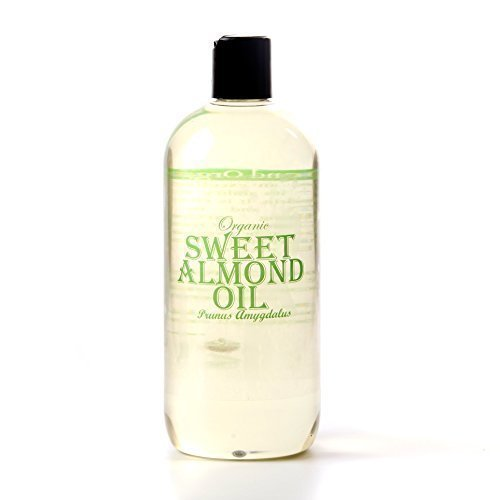 Mystic Moments   Sweet Almond Organic Carrier Oil - 500ml - 100% Pure