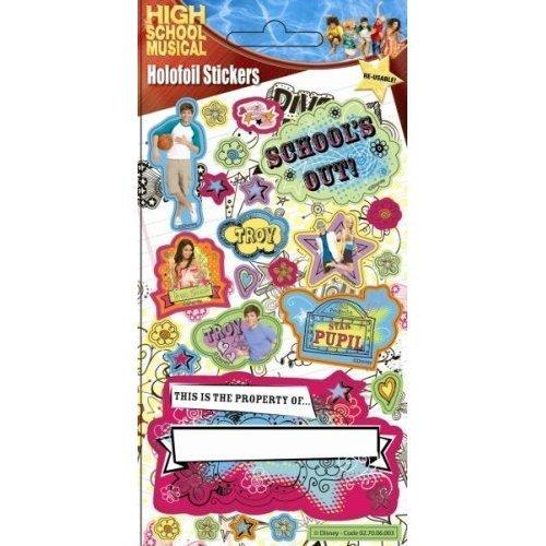 High School Musical - Troy - Foil Sticker Pack - Sticker Style