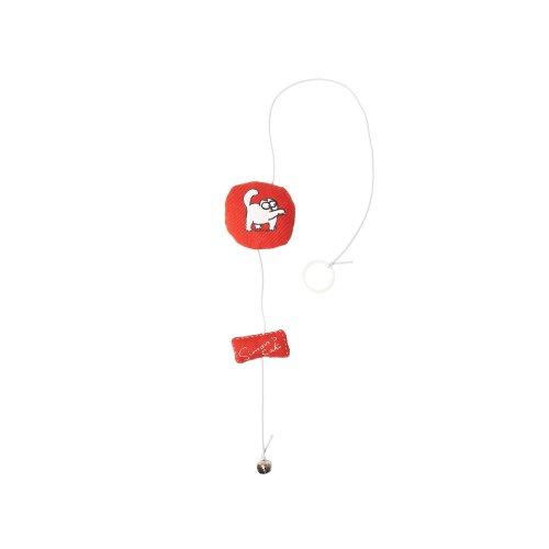 Karlie Flamingo Simon's Cat 48172 Cat Toy Red Round 6 cm