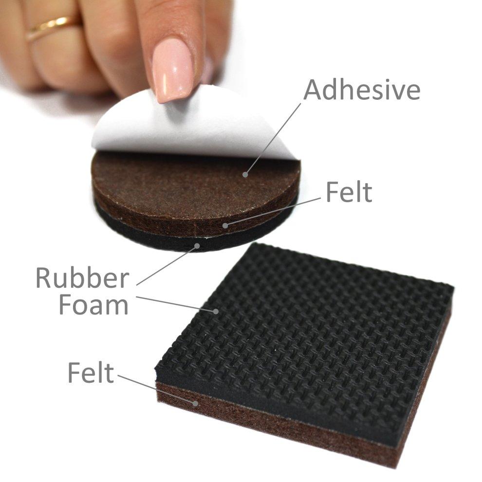 Floor Protector Pads X â Non Slip Premium 36 Pcs