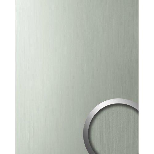 WallFace 10199 DECO HGS Wall panel self-adhesive Metal mat-glossy grey 2.6 sqm