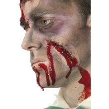 Self Adhesive Self Stitched Up Scar - Halloween Blood Fancy Dress Wound Make -  up scar halloween self stitched blood fancy dress wound make accessory