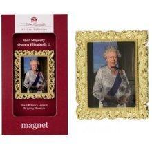 Queen Elizabeth II Fridge Magnet John Swannell Windsor Collection Royal Souvenir Gift 2nd