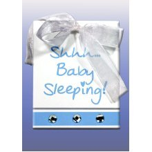 Splosh Baby Sleeping Sign - Blue