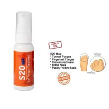 S20 MAX FingerNails and Toenails Fungus Treatment - Fast Results