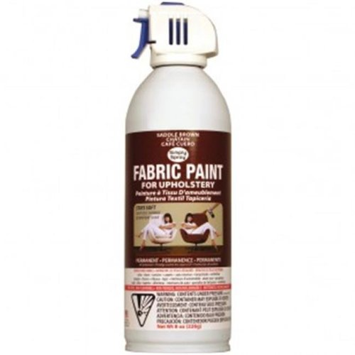 Deval Products UP38090-08M Upholstery Spray Fabric Paint, Saddle Brown