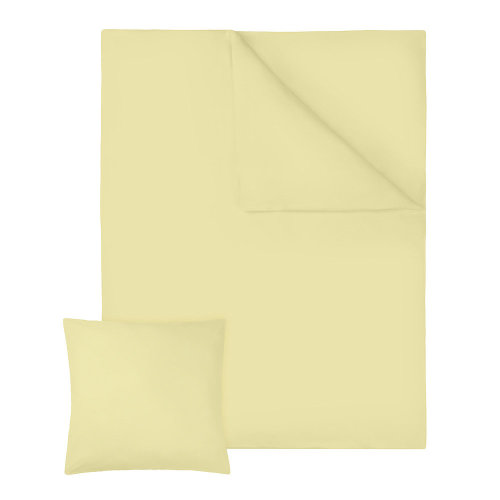 4 bedding sets 200x135cm cotton 2-piece yellow