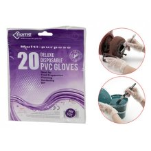 Pack Of 20 Heavy Duty Multi-use Gloves - Latex Inspection Glove Disposable Pvc - Latex Inspection Glove Disposable Pvc Plastic Gloves Home Garden Diy