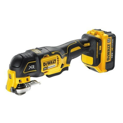 DeWalt DCS355M2 18 Volt XR Brushless Oscillating Multi Tool 2 x 4.0Ah Batts