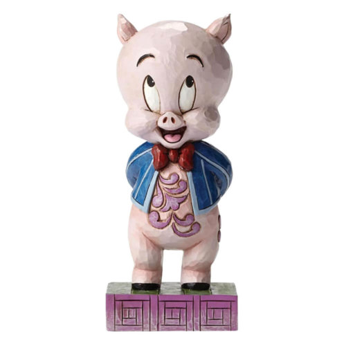 Official Looney Tunes Porky Pig 'It's P-P-P-Porky' Figurine
