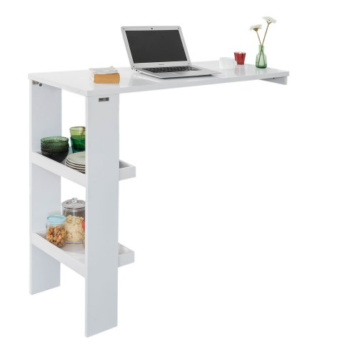 SoBuy® FWT55-W, Wall Mounted Kitchen Breakfast Bar Table Dining Table