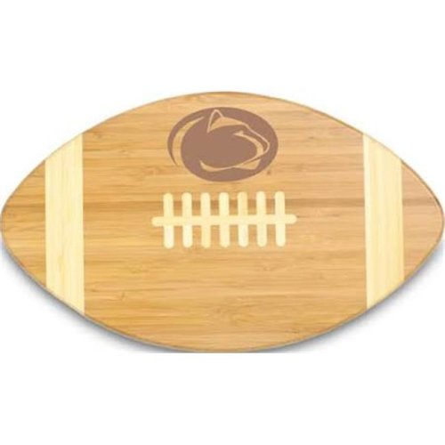 Picnic Time 896-00-505-493-0 Pennsylvania State Nittany Lions Engraved Touchdown Cutting Board, Natural