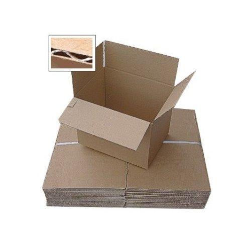 """Single Wall Box 9 x 9 x 5"""" (225 x 225 x 125mm)"""