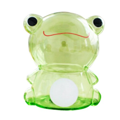 GPPS Piggy Bank Cartoon Hyaline Creative Lovely Gifts Adult/Children Green Frog