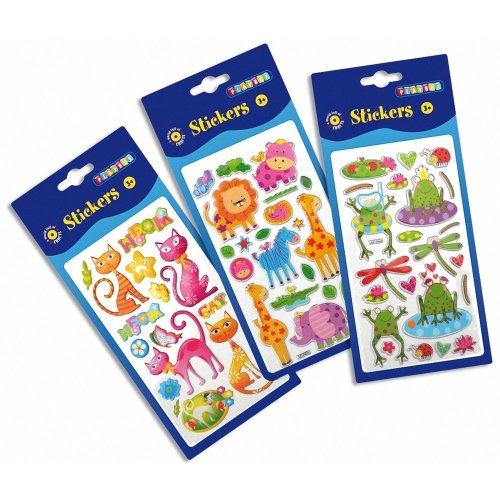 Pbx2470630 - Playbox - Puffy Stickers (animals)