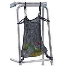 Zimmer Walking Frame Net Mesh Bag for Storage Shopping etc