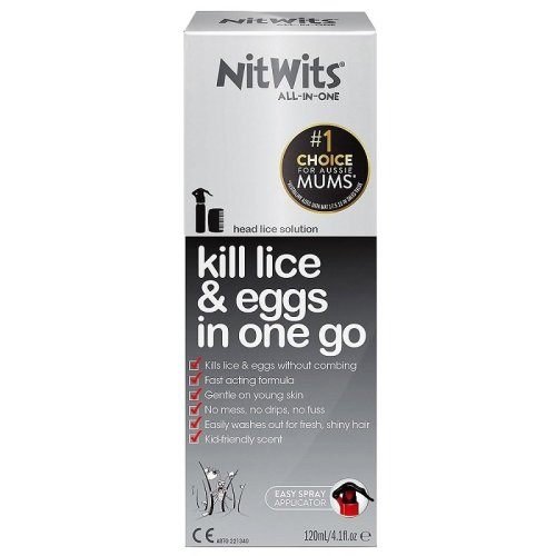 Nitwits All in One - Kill Lice & Eggs In One Go - 120ml