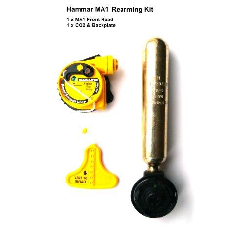Lifejacket Rearming Kit Hammar MA1 Auto Inflator