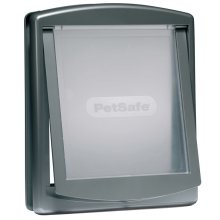 PetSafe 2-Way Pet Door 777 Large 35.6x30.5 cm Silver 5025