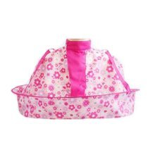 Cartoon Child Kid Hair Cutting Cape Baby Styling Salon Waterproof Cloak, Pink