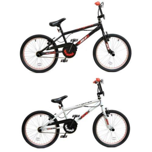 """XN BMX Freestyle 20"""" Wheel Kids Bike 2 Colours"""
