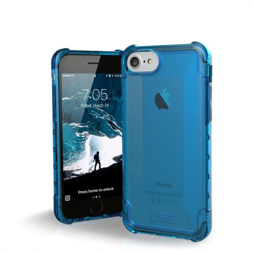 info for 388bc ec6d5 Urban Armor Gear UAG iPhone 8 / iPhone 7 / iPhone 6s [4.7-inch screen] Plyo  Feather-Light Rugged [GLACIER] Military Drop Tested iPhone Case