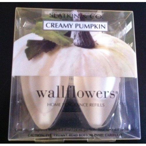 Bath and Body Works Creamy Pumpkin Wallflowers 2 Bulb