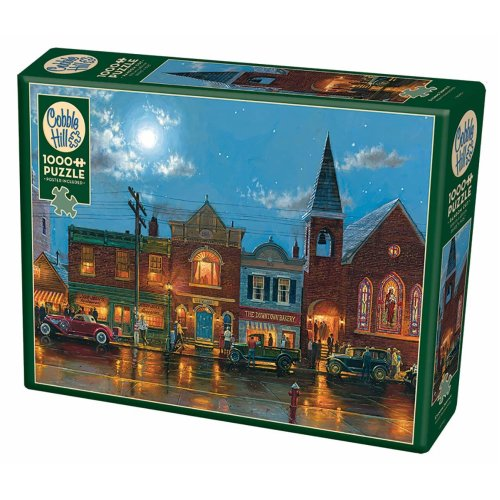 CBL80193 - Cobblehill Puzzles 1000 pc - Evening Service