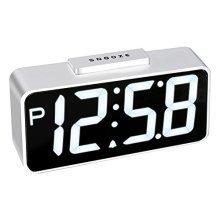 Acctim Talos Usb Connector Smart Clock, Silver!