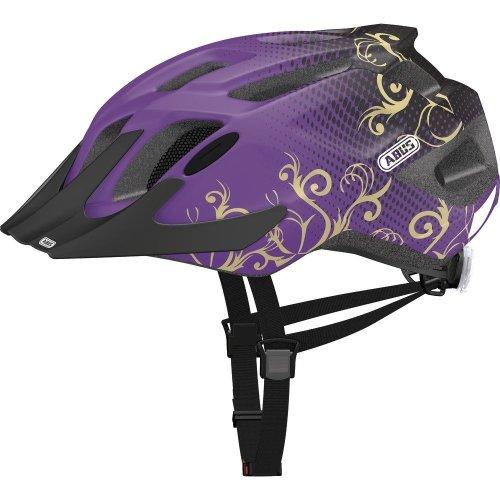ABUS MountX Children's Cycling Helmet Purple Maori Purple Size:48-54 cm