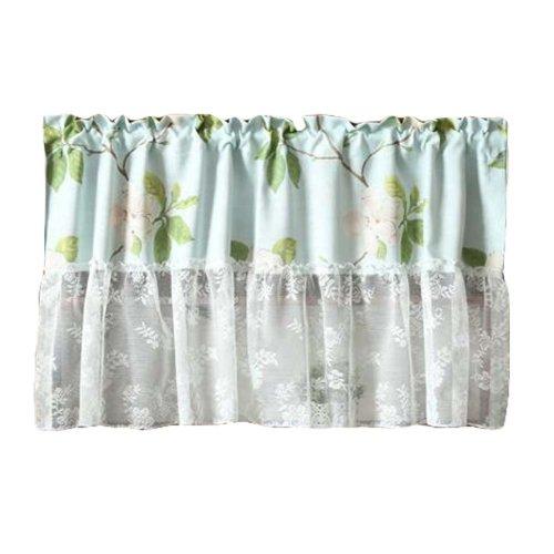 Lace Short Kitchen Curtain Small Window Half Curtain Cafe Curtain Tier Curtain
