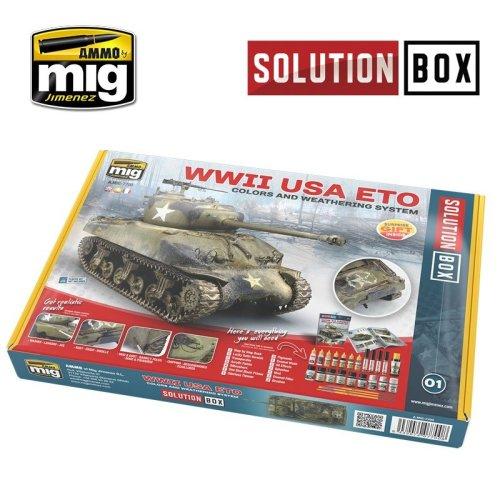 Ammo by Mig WW II American ETO Solution Box
