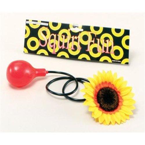 Clown's Water Squirting Sunflower - Squirt Clown Fancy Dress Joke Circus -  sunflower water squirt clown fancy dress joke circus accessory