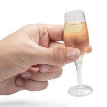 Shot Glass - Mini Champagne Set Of 4 - Glasses Adult Drinking Party Celebration -  set 4 mini champagne shot glasses adult drinking party celebration